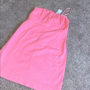 NWT vineyard vines OTLT CAROLYN DRESS BERMUDA PINK